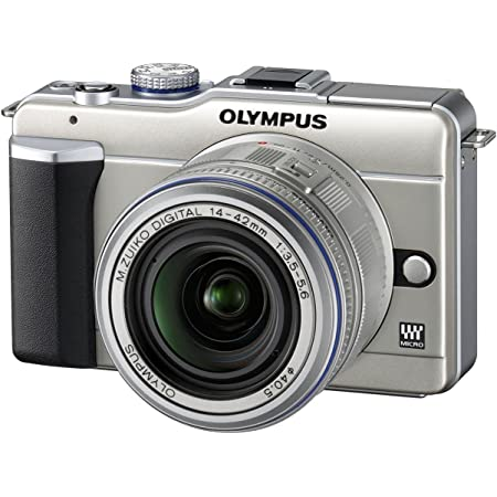 Olympus Pen E Pl1 Systemkamera 2 7 Zoll Champagner Mit Kamera