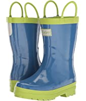 Hatley Kids - Blue & Green Rain Boots (Toddler/Little Kid)