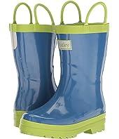 Hatley Kids - Blue & Green Rain Boots (Toddler/Little Kid)