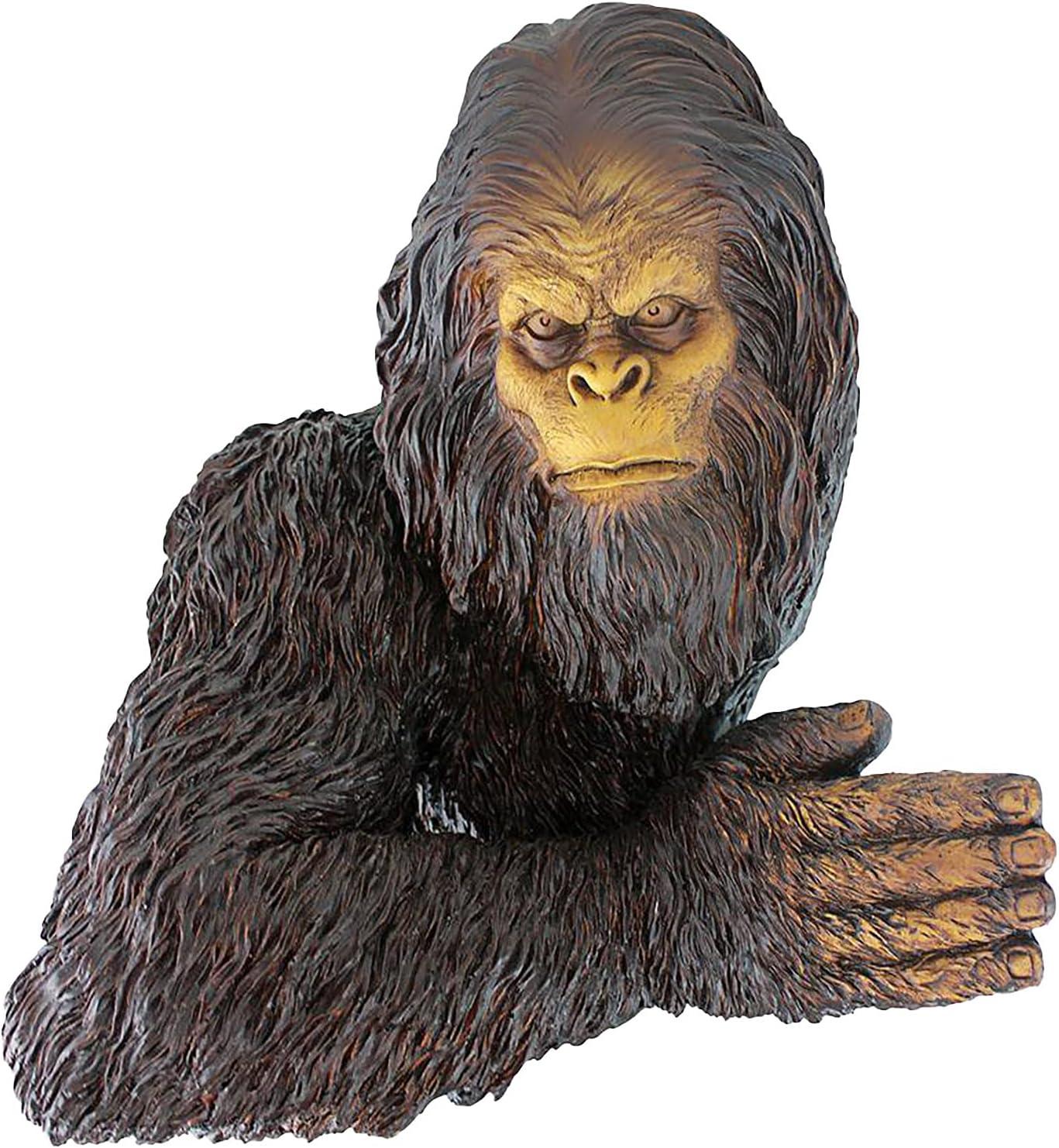 YuanYang hotpot Cheap bargain Orangutan Sculpture Resin Bigfoot B The Ornament Beauty products