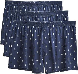"""VRLEGEND Men Underwear Boxers Short, Regular & Big and Tall (32""""-60"""" Waist), 3-Pack Cotton Underpants Boxer Brief"""