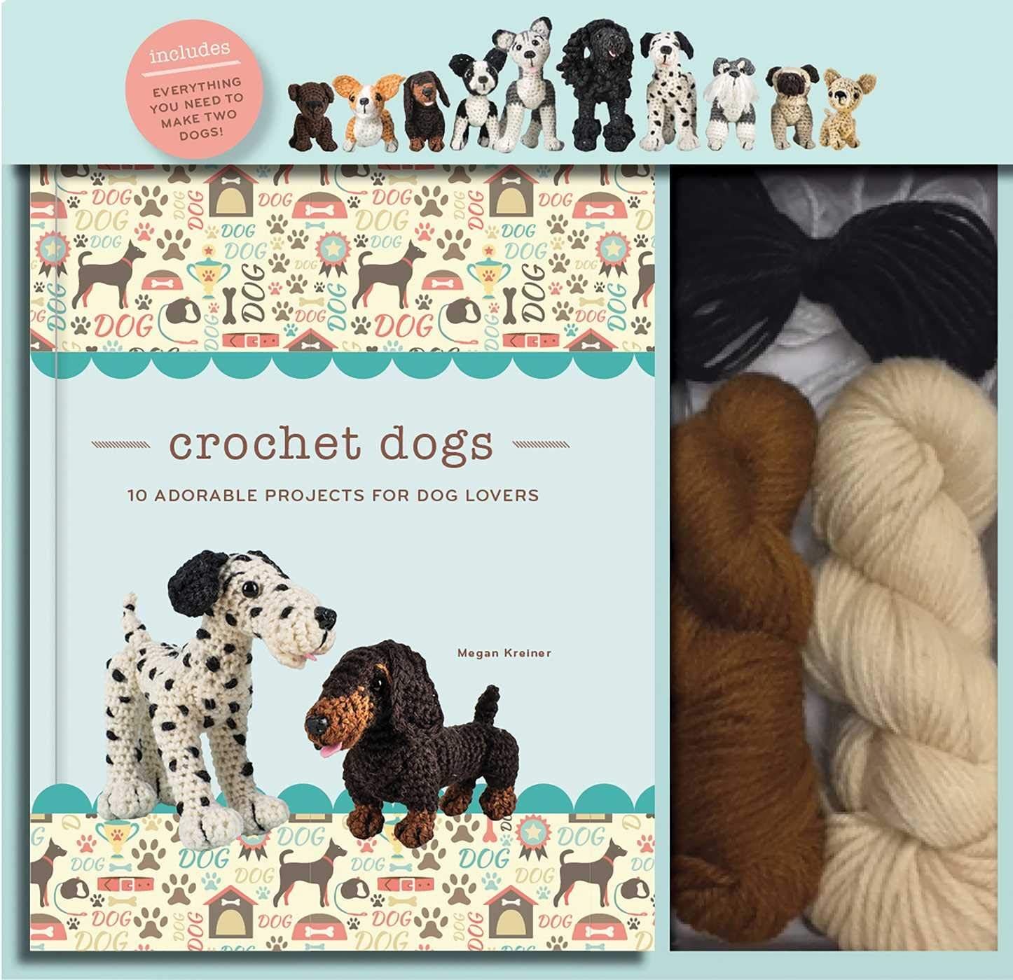 Image OfCrochet Dogs: 10 Adorable Projects For Dog Lovers
