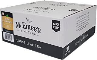 McEntee's Irish Afternoon Loose Tea - Catering 1.35Kg - 600 Cup – BLENDED IN IRELAND, CITRUSY, BRISK & FUL BODIED. A Tradi...