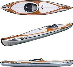 BIC Sport NOMAD HP1 Inflatable Kayak, Orange/Grey, 14-Feet 5 x 31.5-Inch x 440-Pound Capacity
