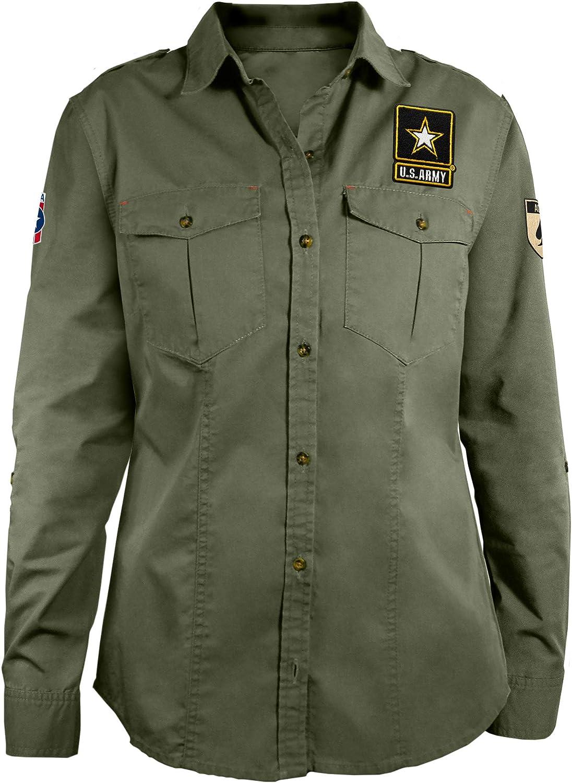 Littlearth Damen Militrshirt US Military