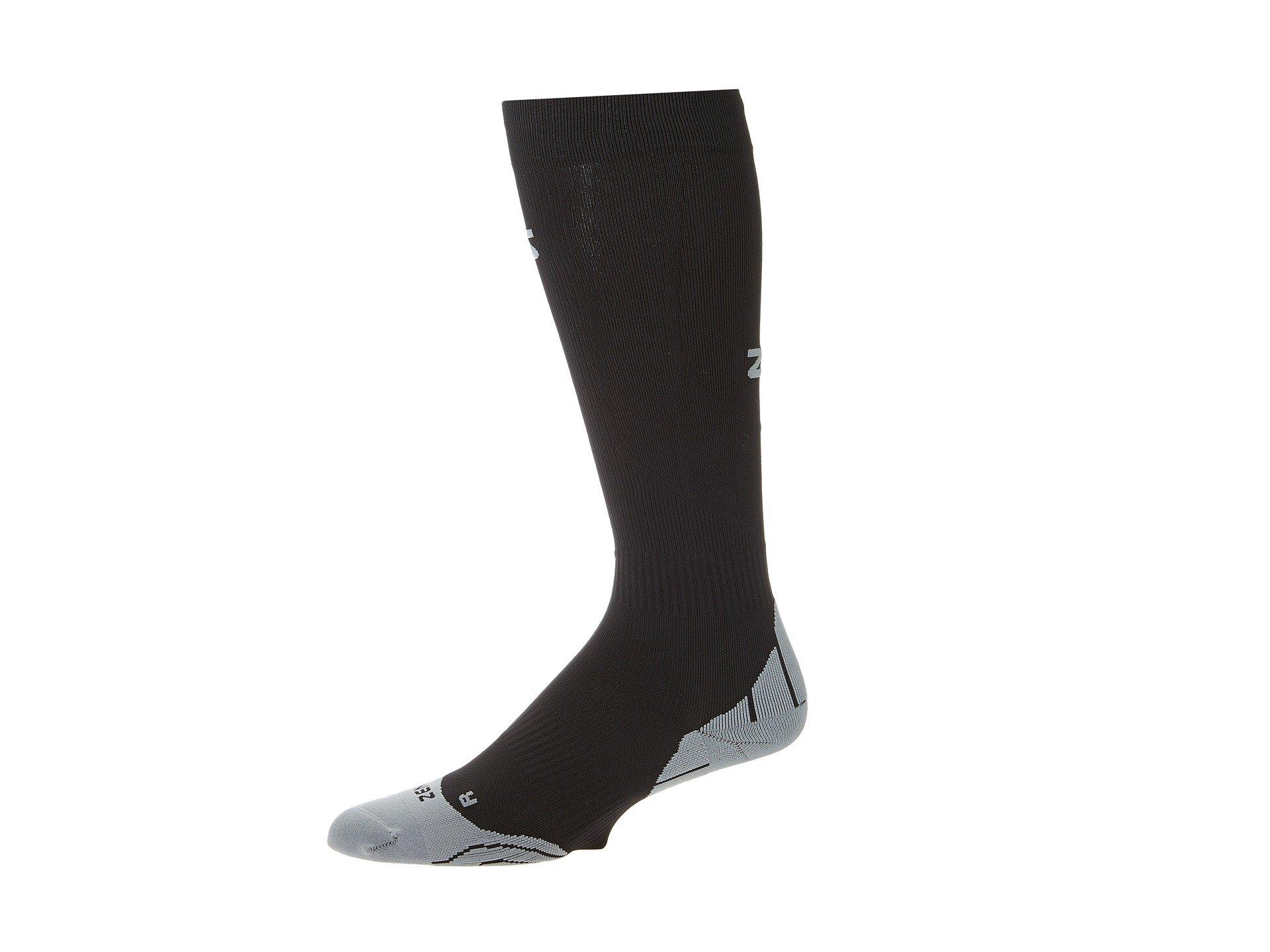 Tech Compression Socks Zensah Zensah Tech Compression Socks Black qXPInw