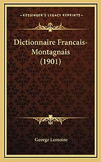 Dictionnaire Francais-Montagnais (1901)