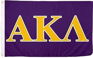 Alpha Kappa Lambda Letter Fraternity Flag Greek Letter Use as a Banner 3 x 5 Feet Sign Decor AKL