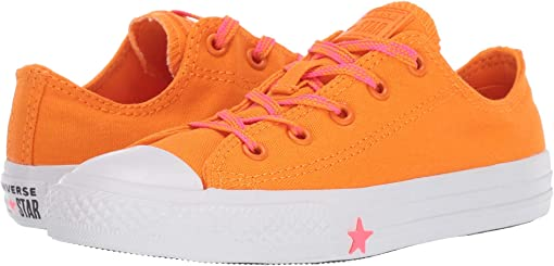 Orange Rind/Racer Pink/White