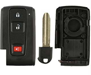 Discount Keyless Remote Fob Smart Key Replacement Case Shell Button Pad For MOZB31EG MOZB21TG