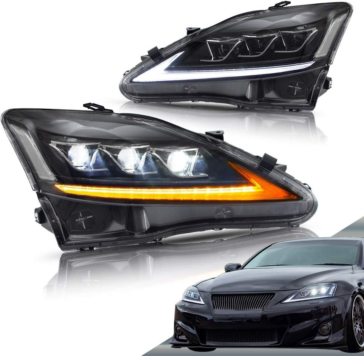初売り VLAND Led Headlights Compatible with IS250 I 売り込み IS250C Lexus IS350