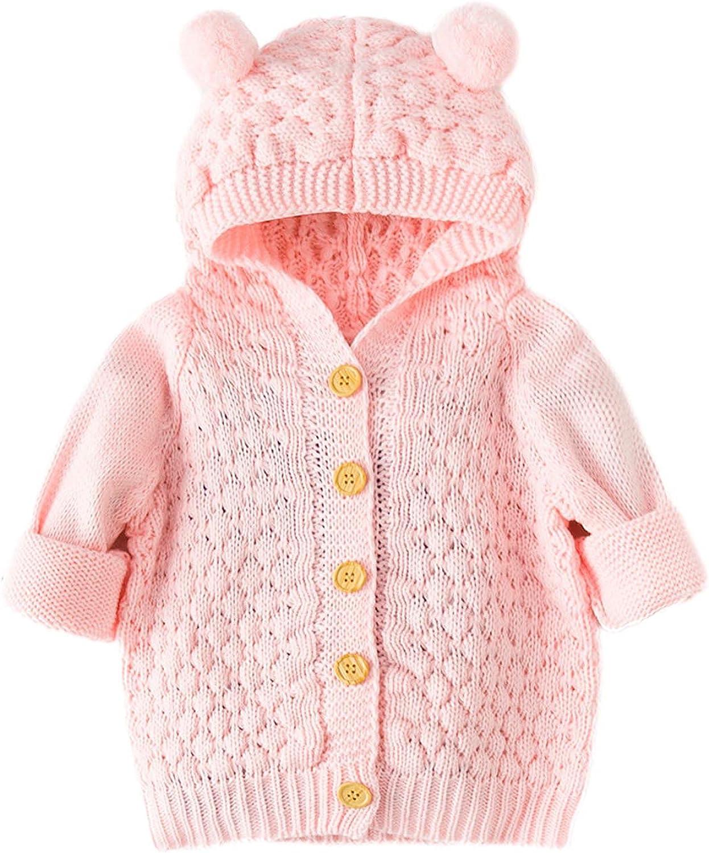 Ranking TOP18 New Newborn Infant Baby Girls Latest item Boys Outwear Coat Knit Hood Winter