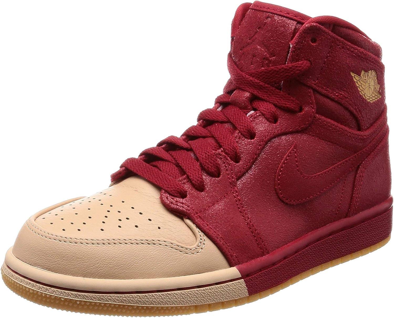   Jordan Nike Women's 1 Retro Hi Premium Basketball Shoe   Basketball