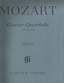 Mozart Klavier Quartette KV 478 & KV 493 Piano Quartets Henle 196