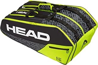Head Core 9R Supercombi Bolsa de Tenis, Adultos Unisex, Nero ...