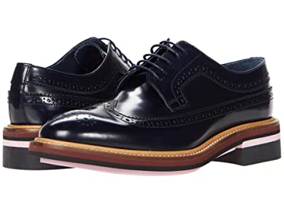Paul Smith Chase Brogue (Navy) Women