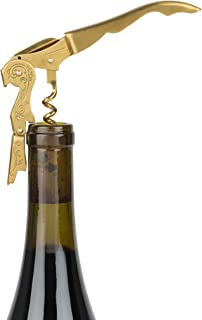 Twine 5913 True Fabrication Chateau: Brushed Brass Stamped Corkscrew, One Size, Multi Color