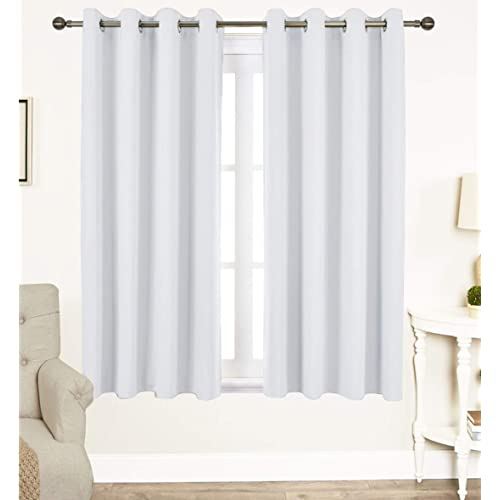 White Cotton Curtains: Amazon.com