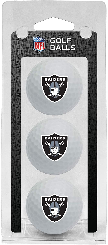 Team Gorgeous Golf High material NFL Las Vegas Raiders 3 Size Balls Pa Regulation