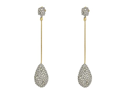 Alexis Bittar Pave Teardrop Post Earrings