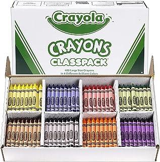 Crayola 400 Large Crayon Classpack (8 Colors)