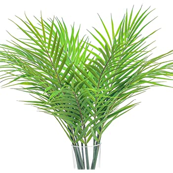 Turtle Leaf Tropical Large Palm Tree Leaves Artificial Plants Home Decorations