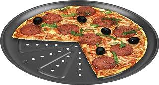 comprar comparacion CHG 9776-46 Bandeja para Hornear Pizza, 2 Piezas, Diámetro: Aprox. 28 Cm, De Calidad Profesional, Resiste Temperaturas De ...
