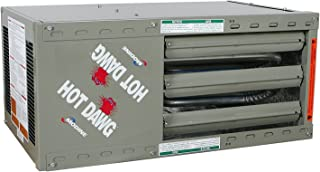modine power vented propane heater