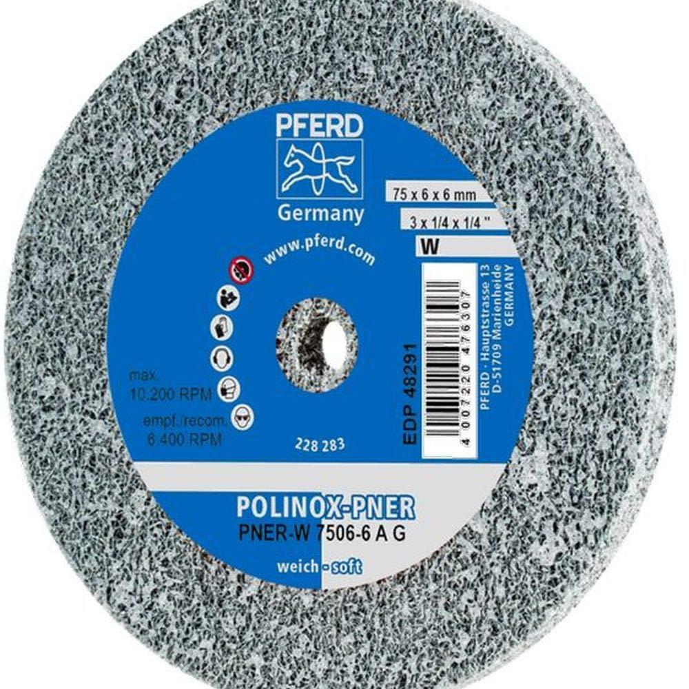 PFERD 48291 POLINOX PNER Non-Woven Wheel Unitized Abrasive Alum NEW New Orleans Mall before selling ☆