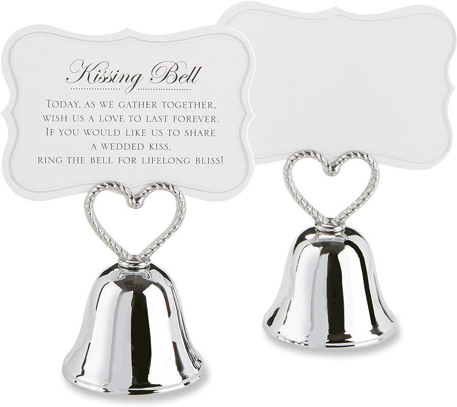 Kate Aspen Set Of 24 Kissing Bells Place Card Holders