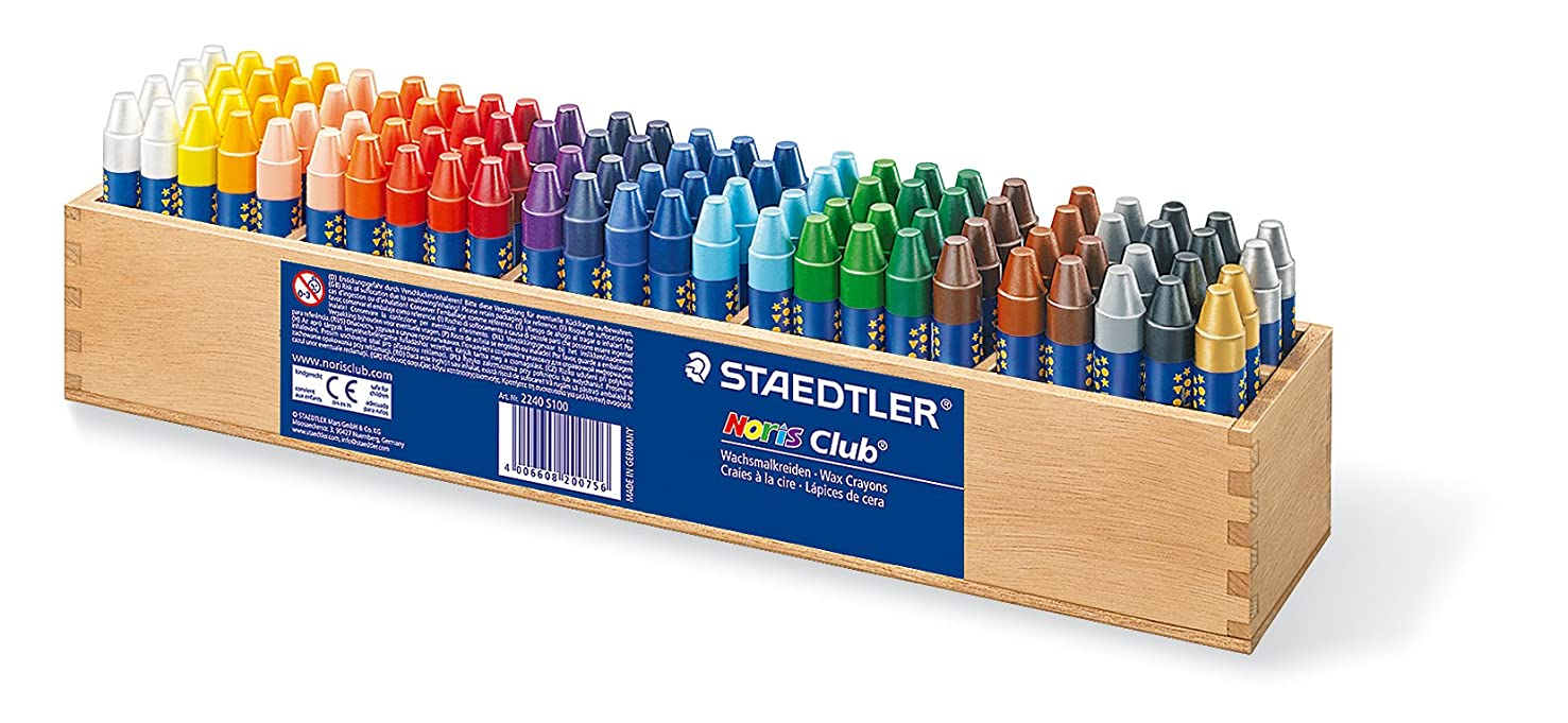 Staedtler 2240 S100 Crayon, Assorted
