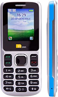 TTsims TT130 Mobile Phone - Camera - Bluetooth - Cheapest Dual Sim Phone - Blue