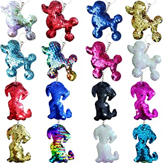 Danirora Puppy Keychains, [16 Pack]Puppy Party Favors for Kids Dog Theme Birthday Party Supplies Prize for Girls Boys Good...