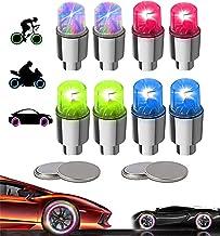 Led Flash Wheel Tyre Valve Stem Cap Lights for Car Bike Bicycle Motorbicycle Spoke Lights Valve Caps Accessories LZYMSZ 20PC Wheel Valve Light