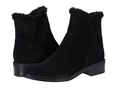 Vaneli Relis Waterproof (Black Suede/Black Faux Shearling) Women