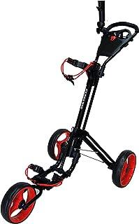 Qwik-Fold 3 Wheel Push Gear CART - ترمز پا - یک دوم برای باز کردن و بستن!