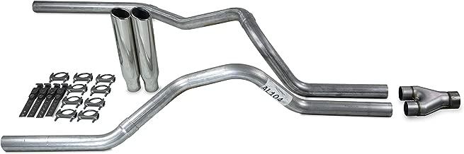 Truck Exhaust Kits - Shop Line dual exhaust system 2.5 AL pipe Jones Y pipe 2.5