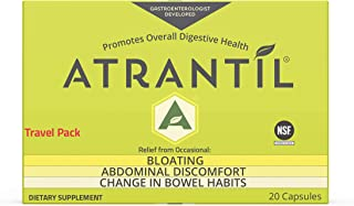 Atrantil Travel Pack (20 Count): Bloating, Abdominal Discomfort, and Change in Bowel Habits