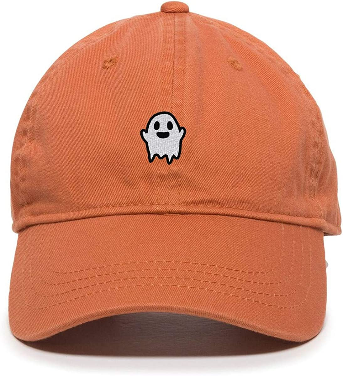 DSGN By Clearance SALE! Limited time! DNA Popularity Ghost Baseball Dad Embroidered Cotton Adjustable Cap