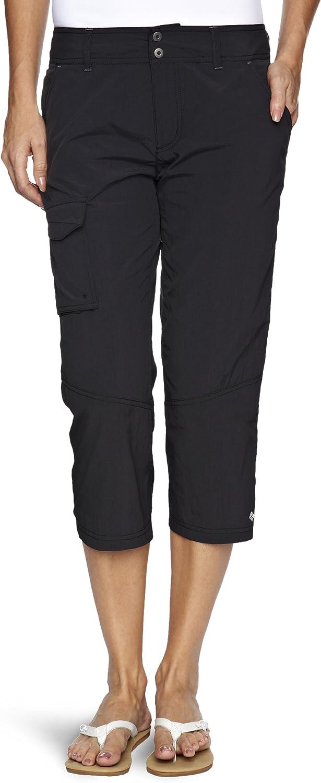 Columbia 3 4 Pants Silver Ridge Black
