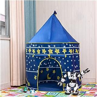 YSJJWDV Teepee tält bärbart barntält för barn prinsessa slott små barn hus inomhus utomhus baby tält Tipi Tipi Campingtält...