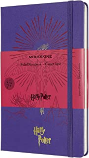 モレスキン ノート ハリー・ポッター 限定版 ノートブック ハードカバー ラージサイズ ヴァイオレット LEHP02QP060E