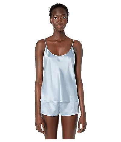 La Perla Silk Cami Top (Grey Blue) Women