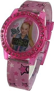 Nickelodeon JoJo Siwa Girl's Pink Digital Light Up Watch