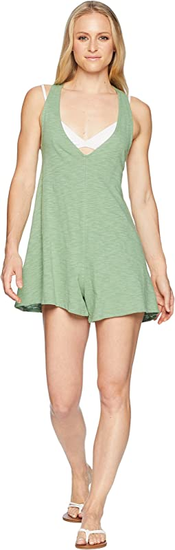 Alice Romper Swimsuit Cover-Up