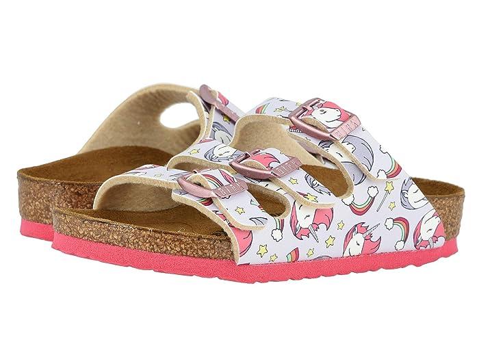 Birkenstock Kids  Florida (Toddler/Little Kid/Big Kid) (Unicorn Pink Birko-Flortm) Girls Shoes