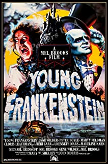 "Posters USA Young Frankenstein GLOSSY FINISH Movie Poster - FIL874 (24"" x 36"" (61cm x 91.5cm))"