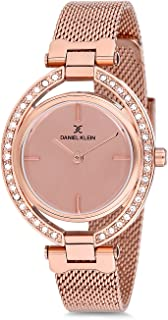Daniel Klein Womens Quartz Watch, Analog Display and Stainless Steel Strap - DK12194-2