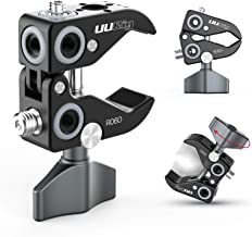 UURig R060 Super Clamp for Monitor/LED Lights/Flash/Microphone, Versatile C Clamp Strong Camera Clamp Endless Using Scenes...