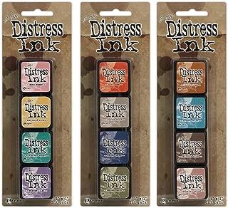 Ranger Tim Holtz Distress Mini Ink Pad Kits #4, #5 and #6 Bundle